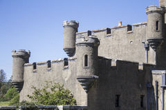 Schottisches Schloss Stockfotos