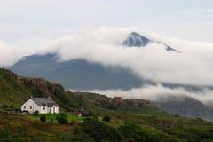 Schottland, Insel von Mull mit näherndem Sturm stockbilder