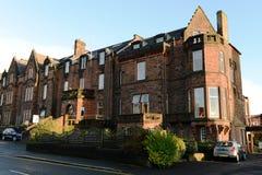 Schottland ist ein historisches Hotel Lizenzfreie Stockfotos