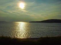 Schottland-Küstenliniennatur Stockbild