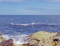 Schottland-Küstenliniennatur Stockfotos