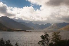 schottland Loch Quioch Oktober 2014 Lizenzfreie Stockbilder