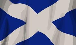 Schottland-Markierungsfahne Lizenzfreies Stockbild
