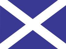 Schottland-Markierungsfahne Stockfotografie