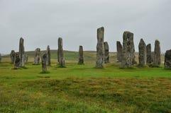 Schottland-Menhir Stockbild