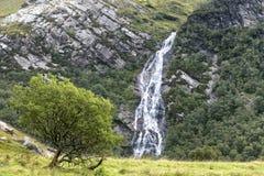 Schottland-Wasserfall Lizenzfreies Stockbild
