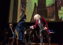 Schouwspel die Filharmonia Futura en M kenmerken Walewska - de Opera is het Leven Royalty-vrije Stock Fotografie