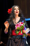 Schouwspel die Filharmonia Futura en M kenmerken Walewska - de Opera is het Leven, Royalty-vrije Stock Afbeelding