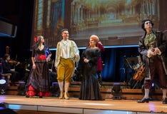 Schouwspel die Filharmonia Futura en M kenmerken Walewska - de Opera is het Leven, Royalty-vrije Stock Foto