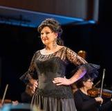 Schouwspel die Filharmonia Futura en M kenmerken Walewska - de Opera is het Leven, Stock Foto's