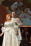 Schouwspel die Filharmonia Futura en M kenmerken Walewska - de Opera is het Leven, Royalty-vrije Stock Fotografie