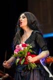 Schouwspel die Filharmonia Futura en M kenmerken Walewska - de Opera is het Leven, Stock Afbeeldingen