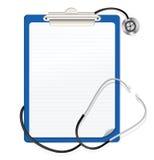 schowka stetoskop ilustracji
