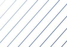 Schräg liegende Linien von verschiedenen Schatten des Blaus vektor abbildung