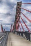 Schrägseilbrücke Stockbilder