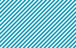 Schrägstreifen hellblau und weiß Stockfotos