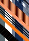 Schrägstreifen-Wiederholungs-Muster Stockfotos