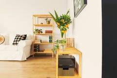 Schrank im Wohnzimmer lizenzfreie stockfotografie