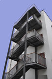 Schrapende ladder Royalty-vrije Stock Foto