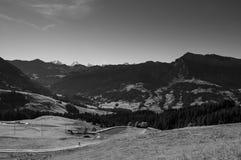 Schrattenfluh山Marbachegg谷恩特勒布赫,瑞士生物圈储备  图库摄影