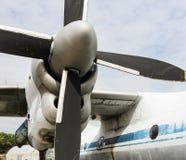 Schraube oder Blätter des Flugzeuges Stockfotos