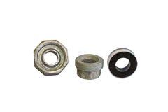 Schrauben-Verbands-Stahl stockfotografie