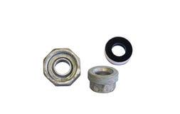 Schrauben-Verbands-Stahl lizenzfreies stockbild