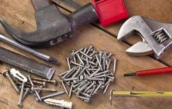Schraubenwerkzeug vom verschiedenen Lizenzfreies Stockfoto