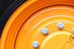 Schraubt Detail von Industriemaschinen Stockfotos