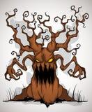 Schreckliche Baumfarbe Lizenzfreies Stockfoto