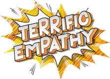 Schreckliche Empathie - Comic-Buch-Artwörter lizenzfreie abbildung