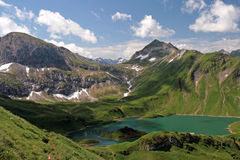 Schrecksee Royalty Free Stock Photography