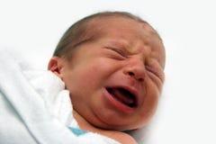 Schreeuwende baby Royalty-vrije Stock Foto's