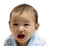 Schreeuwende baby Stock Fotografie