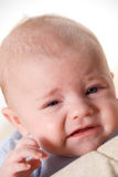 Schreeuwende baby Royalty-vrije Stock Afbeelding