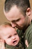 Schreeuwende Baby Royalty-vrije Stock Afbeeldingen
