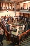 Schreibarbeit im städtischen Geschichtsmuseum Shanghais Lizenzfreies Stockbild
