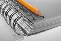 Schreiben-Buch Lizenzfreie Stockfotos