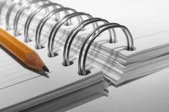 Schreiben-Buch Lizenzfreie Stockbilder