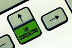 Schreiben der Anmerkung, die Stunden-Beratung zeigt Geschäftsfoto Präsentationsspezialistenrat und -dienstleistungen erbracht von stock abbildung