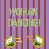 Schreiben der Anmerkung, die Woanalysis-Tanzen zeigt Geschäftsfoto, das überzeugtes woanalysis zur Schau stellt, das würdevoll ta stock abbildung