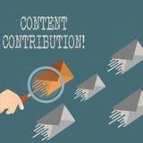 Schreiben der Anmerkung, die zufriedenen Beitrag zeigt Präsentationsbeitrag des Geschäftsfotos von Informationen zu irgendwelch vektor abbildung