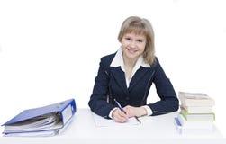 Schreiben eines Briefes Lizenzfreie Stockbilder