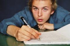 Schreiben Sie Lizenzfreies Stockfoto