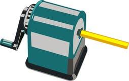 Schreiben Sie Bleistiftspitzer Lizenzfreie Stockbilder