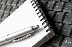 Schreiben Sie equipament Stockfotos
