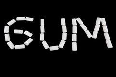 Schreiben Sie Gummi mit Gummi lizenzfreie stockfotos