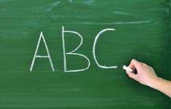 Schreibens-ABC Lizenzfreie Stockfotos