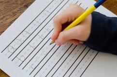 Schreibens-ABC Lizenzfreies Stockfoto