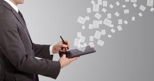 Schreibens-E-Mail Lizenzfreie Stockbilder